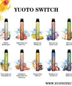 YUOTO Switch Disposable Vape Wholesale